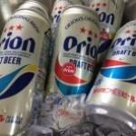 沖縄の味「オリオンビール」の試飲会を開催  @東京マート