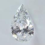 ペアシェイプダイヤモンドのリング