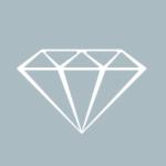 エメラルドカットダイヤモンドのリング