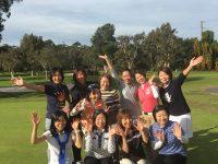 日本人会婦人ゴルフ部の8月月例会を開催しました