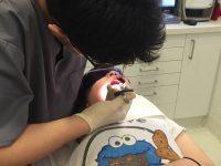 ⚫️子どものなかなか抜けない乳歯は、将来のきれいな歯並びのために・・・⚫️