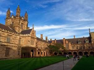 10月3日募集スタート。シドニー大学の日本語学科のオーストラ…