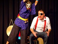 小泉八雲『怪談』をもとにした喜劇「Ghost Jam!」を演じるショーン・マーフィーさんとソフィー・ウンセンさんにインタビュー