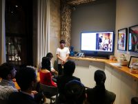 グラフィックアーティストKentaro Yoshidaがネットワークイベントにて講演