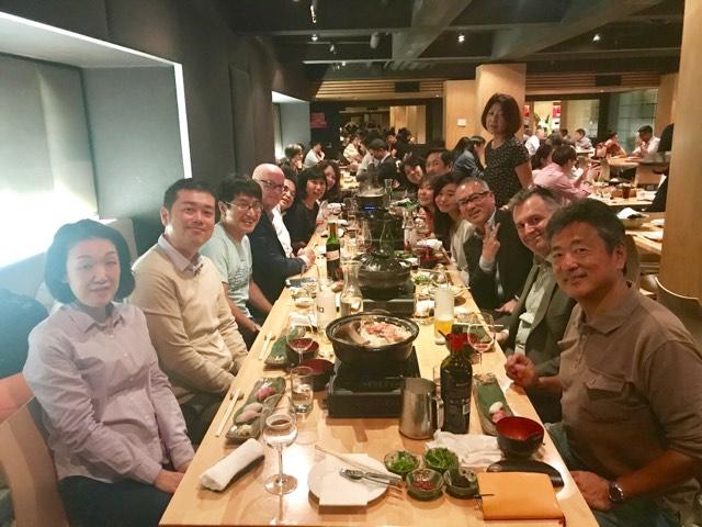 10月18日 シティ「Masuya Japanese Restaurant」 (幹事: Mr &Mrs Kitamura )
