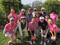 日本人会婦人ゴルフ部、ハーフコンペを開催しました