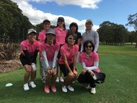 日本人会婦人ゴルフ部の11月月例会を開催しました