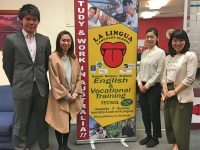 【学校訪問】会話の専門学校ラ・リングア(La Lingua)へ実際に行ってきた!