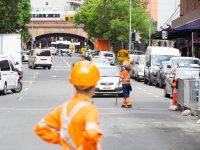 シドニーの工事現場を見て考えさせられました…