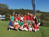 日本人会婦人ゴルフ部の12月月例会(クリスマススペシャルコンペ)を開催しました