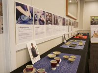 忍者の里・伊賀が伝統の伊賀焼と伊賀組紐の展示会を開催