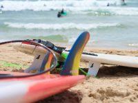 オーストラリア初サーフィンで溺れる……