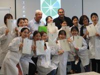 韓国から看護大学生がプログラムに参加!!授業風景あり!