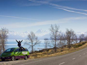 「JUCY」キャンピングカーでニュージーランド南島ドライブ 6日間