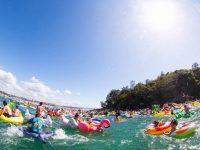 2月のシドニーイベント/フロートや浮き輪でプカプカ泳ごう!