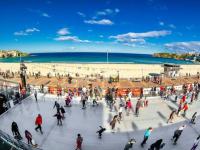 6月・7月のイベント/ボンダイ・ビーチでアイススケート?