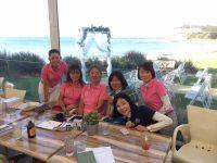 日本人会婦人ゴルフ部の4月月例会を開催しました