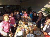日本人会婦人ゴルフ部でアプローチ練習会&ハーフコンペを開催