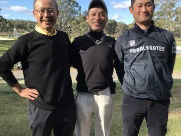 日本人会ゴルフ部6月度例会を開催しました