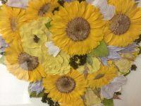 「M'sの花の講座」10月20日終了のお知らせ。 M's式立体押し花と、プリザーブドフラワーを学ぶ最後のチャンスです!