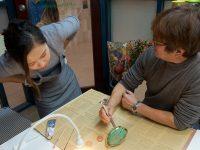 シドニーで学ぶ日本の伝統文化「金継ぎアート」を体験しました♪
