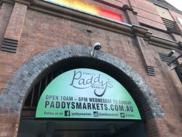 シドニーのPaddy's Markets(パディズマーケット)に行ってきました。