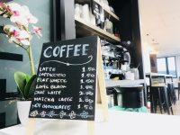 語学学校のカフェなら、コーヒーが$1.5♪