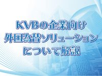 KVBの企業向け外国為替ソリューションとは?