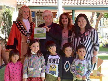 木の実幼稚園インターナショナルがSTEM保育の実績で銘板授与