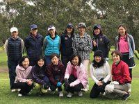 日本人会婦人ゴルフ部で9ホールコンペを開催
