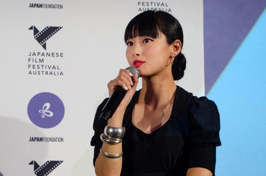 「オー・ルーシー!」忽那汐里さんQ&A/日本映画祭