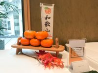 JETRO主催/和歌山県産の柿商談会