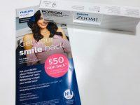 ●スタッフの院内歯のホワイトニング体験★$200オフ+$50返金!!