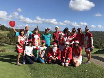 日本人会婦人ゴルフ部の12月月例会を開催しました