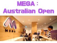 シドニーの語学・専門学校MEGA :Australian Open