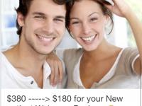 ◆初回の方、歯科検診とクリーニング総合パッケージが180ドル!