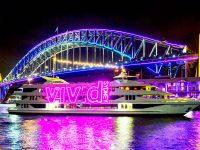 光と音の祭典! Vivid Sydney 2019!去年はこんな感じ★