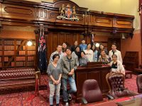 NSW州議事堂へいってきました