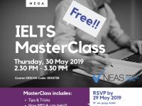 すぐに使えるテクが学べる!IELTS MasterClass!
