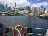 キャプテンクックの船見学! オーストラリア国立海洋博物館!