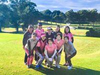 日本人会婦人ゴルフ部の6月スペシャルコンペを開催しました