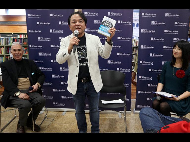小説『奇跡の島〜木曜島物語〜』出版記念イベントに100人