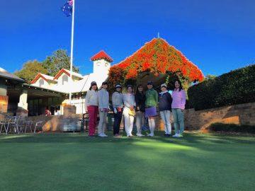 日本人会婦人ゴルフ部7月月例会を開催しました