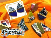 日本の伝統技術「金継ぎ」を使ったアクセサリー作りを体験♪