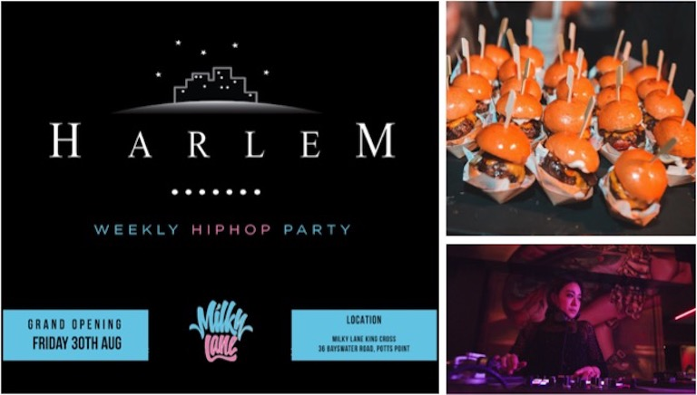 【入場無料】日本人主催のDJイベント「Harlem」始動!