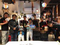 開店一周年記念沖縄イベントでパフォーマンス / 豪州かりゆし会