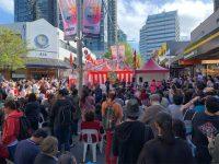 「豪州かりゆし会」がチャッツウッド日本祭りでパフォーマンス