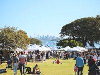 9月のシドニーイベント/Watsons Bayで春のマーケット開催