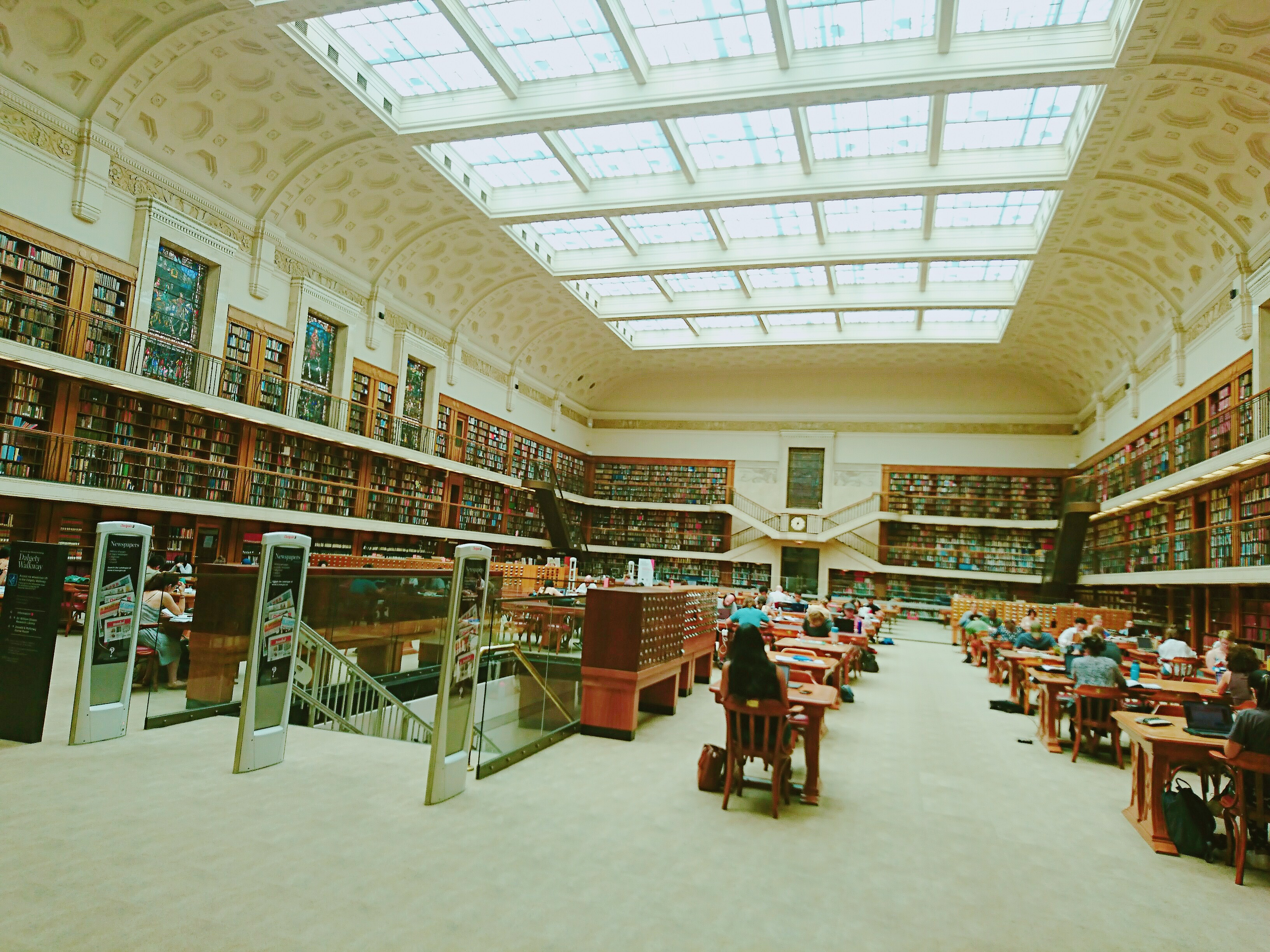 シドニーの図書館について