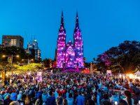 12月のシドニーイベント/大聖堂を彩る映像と音楽の祭典